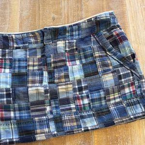 American Eagle Madras Skirt